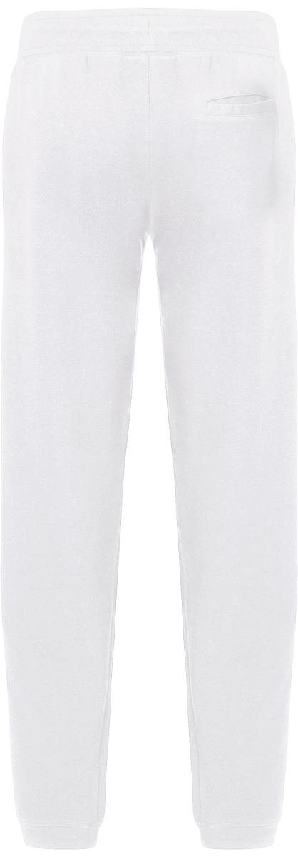 Mens Official Don Loyalty Over Royalty White Joggers - Homme>Vêtements De Sport