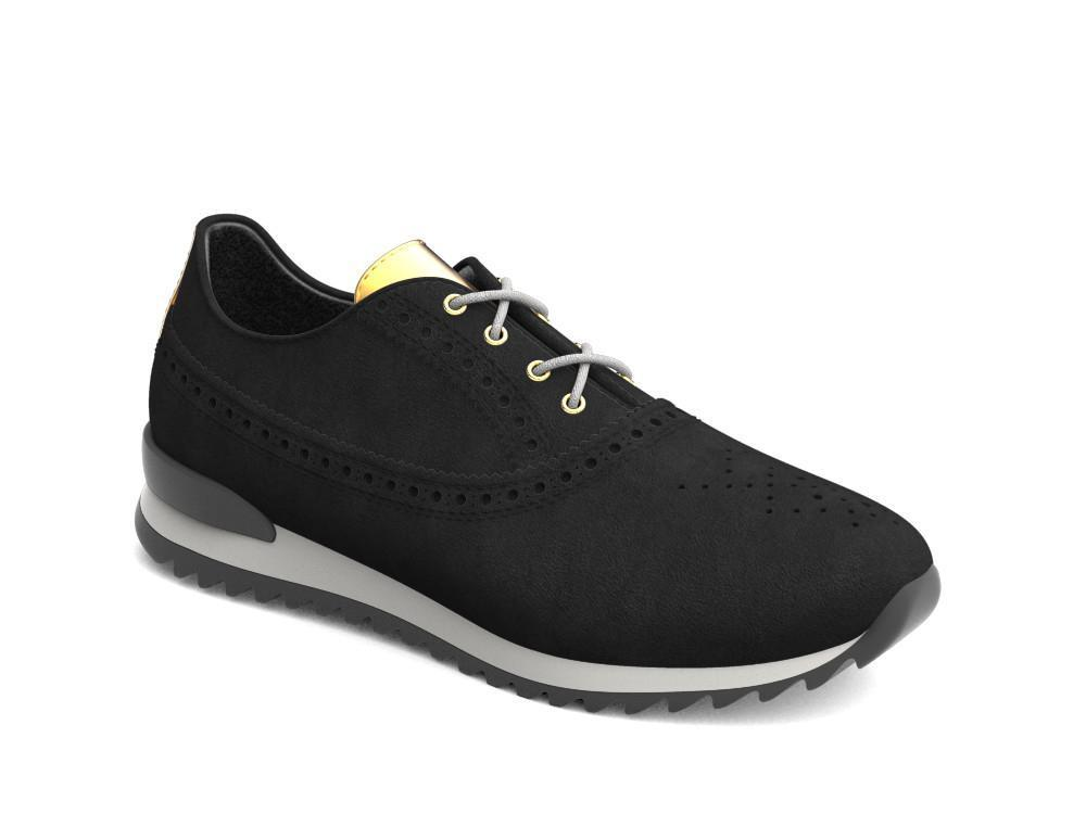 Nerva X Don Antelope Leather Low-Top Trainers - Shoes