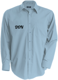 Mens Official Don Long Sleeve Shirt - Bright Sky / S - Homme>Chemises & Pulls