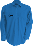 Mens Official Don Long Sleeve Shirt - Bright Turquoise / S - Homme>Chemises & Pulls