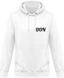Mens Official Don One Colour Hoodie - Blanc / Xs - Homme>Sweatshirts