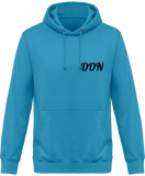 Mens Official Don One Colour Hoodie - Hawaiian Blue / Xs - Homme>Sweatshirts
