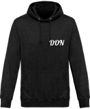 Mens Don Official Hoodie - Charcoal / Xs - Homme>Sweatshirts