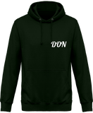 Mens Don Official Hoodie - Forest Green / Xs - Homme>Sweatshirts