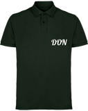 Mens Official Don Piqué Polo-Shirt - Bottle / S - Homme>Polos