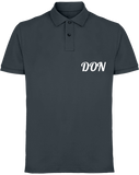Mens Official Don Piqué Polo-Shirt - Denim / S - Homme>Polos