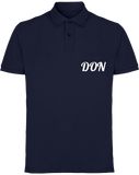 Mens Official Don Piqué Polo-Shirt - Navy / S - Homme>Polos