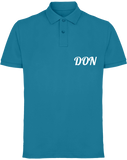 Mens Official Don Piqué Polo-Shirt - Sapphire / S - Homme>Polos