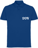 Mens Official Don Piqué Polo-Shirt - Royal / S - Homme>Polos