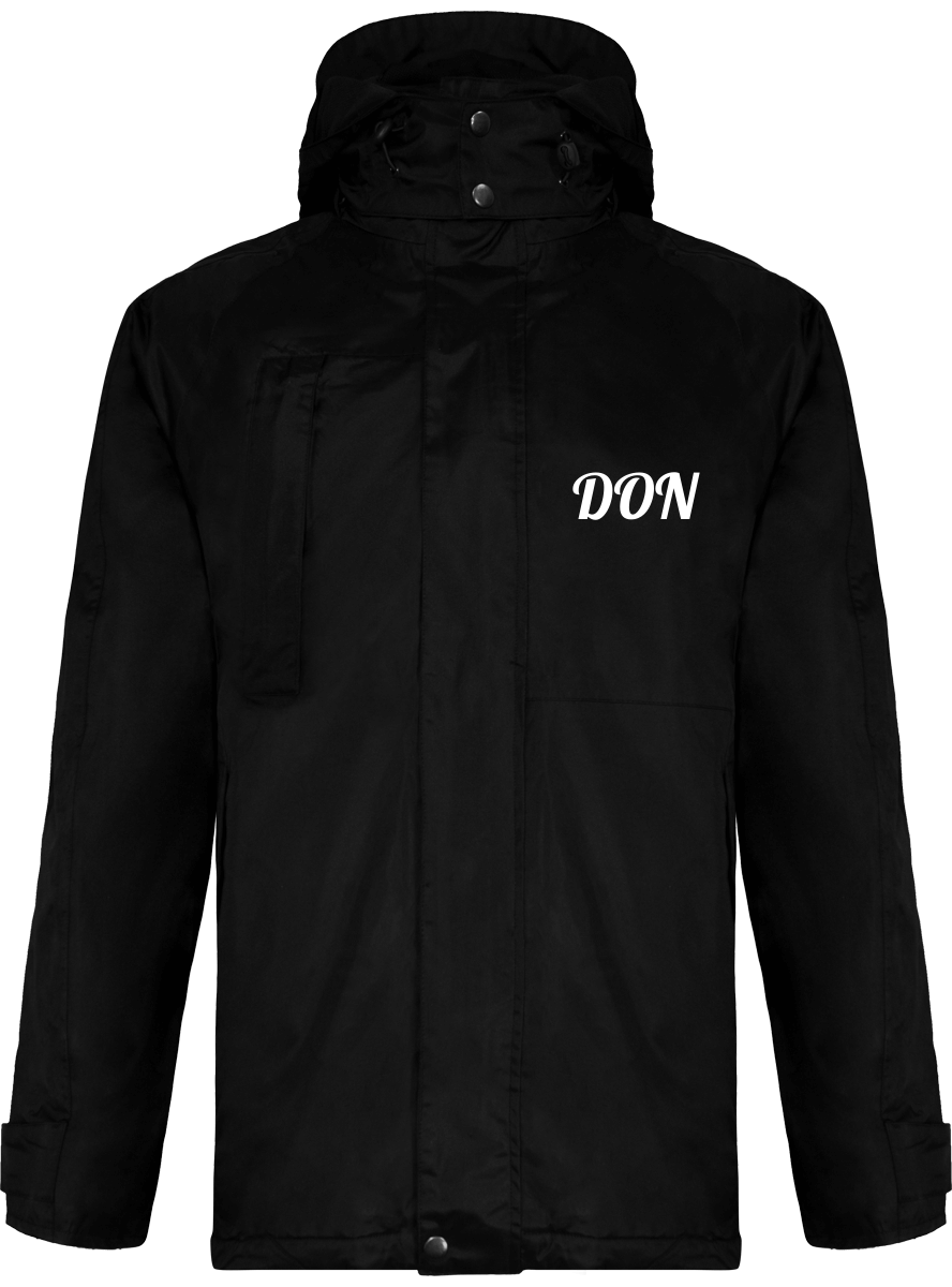 Official Don 2 In 1 Parka Coat - Black / Xs - Homme>Vestes & Manteaux