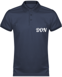 Mens Official Don Polo Piqué Performance Polo-Shirt - Navy / Navy / Xs - Homme>Vêtements De Sport