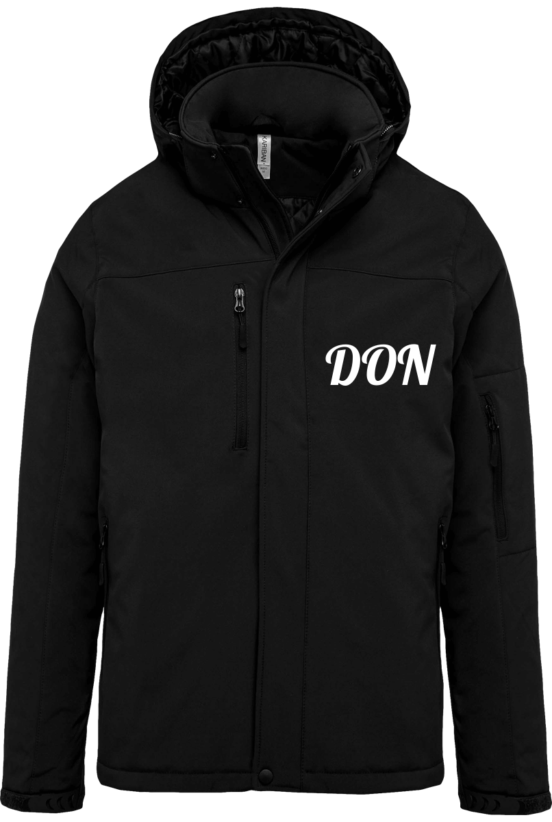Mens Official Don Lined Parka - Black / S - Homme>Vestes & Manteaux