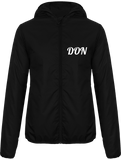 Womens Official Don Windbreaker Coat - Black / Xs - Femme>Vestes & Manteaux