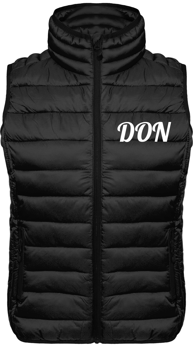 Womens Official Don Sleeveless Lightweight Jacket - Black / Xs - Femme>Vestes & Manteaux
