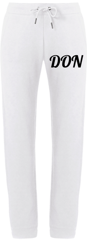 Womens Official Don Joggers - White / Xs - Femme>Vêtements De Sport