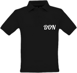Official Don Polo-Shirt - Kids - Black / 5/6 Ans - Enfant & Bébé>Polos