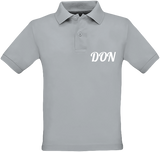 Official Don Polo-Shirt - Kids - Pacific Grey / 5/6 Ans - Enfant & Bébé>Polos