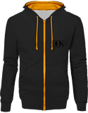 Official Don Hoodie Two-Tone With Zip - Jet Black / Gold / S - Unisexe>Sweatshirts