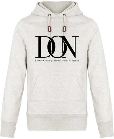 Unisex Official Don Stanley Tell Complex Hoodie - Cream Heather Grey / Xxs - Unisexe>Sweatshirts