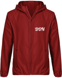 Mens Official Don Light Down Windbreaker Jacket - Red / S - Homme>Vestes & Manteaux