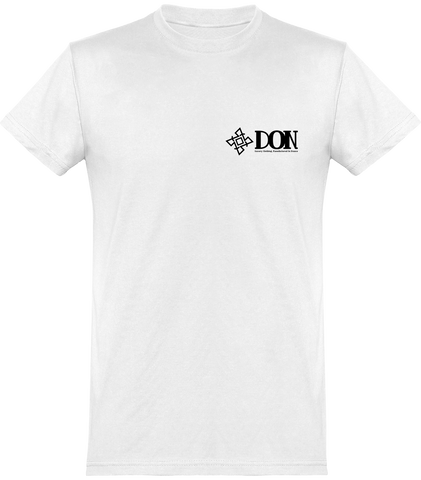 Mens Official Don Signature T-Shirt - White / Xs - Homme>Tee-Shirts