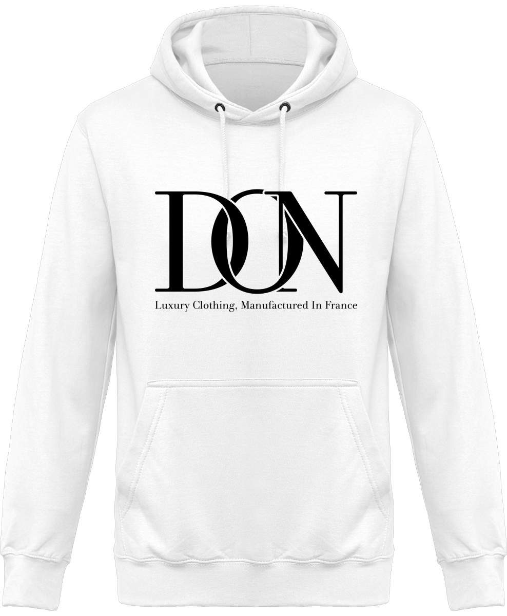 Mens Official Don Signature Class Hoodie - Blanc / Xs - Homme>Sweatshirts
