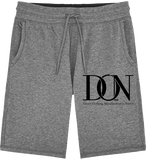 Mens Official Don Signature Jogging Shorts - Mid Heather Grey / S - Homme>Vêtements De Sport