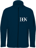 Mens Official Don Signature Dark Soft-Shell Jacket - Navy / S - Homme>Vestes & Manteaux