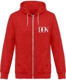 Mens Official Don Signature Dark Jacket - Red Heather / Xs - Unisexe>Sweatshirts
