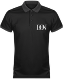 Mens Official Don Polo Piqué Signature Polo-Shirt - Black / Sporty Grey / Xs - Homme>Vêtements De Sport