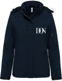 Womens Official Don Signature Softshell Lined Parka - Navy / Xs - Femme>Vestes & Manteaux