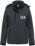Womens Official Don Signature Softshell Lined Parka - Titanium / Xs - Femme>Vestes & Manteaux