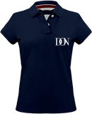 Womens Official Don Signature Vintage Polo-Shirt - Vintage Navy / Xs - Femme>Polos