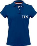 Womens Official Don Signature Vintage Polo-Shirt - Vintage Blue / Xs - Femme>Polos