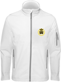 Mens Official Don Lions Pride Soft-Shell Jacket - White / S - Homme>Vestes & Manteaux
