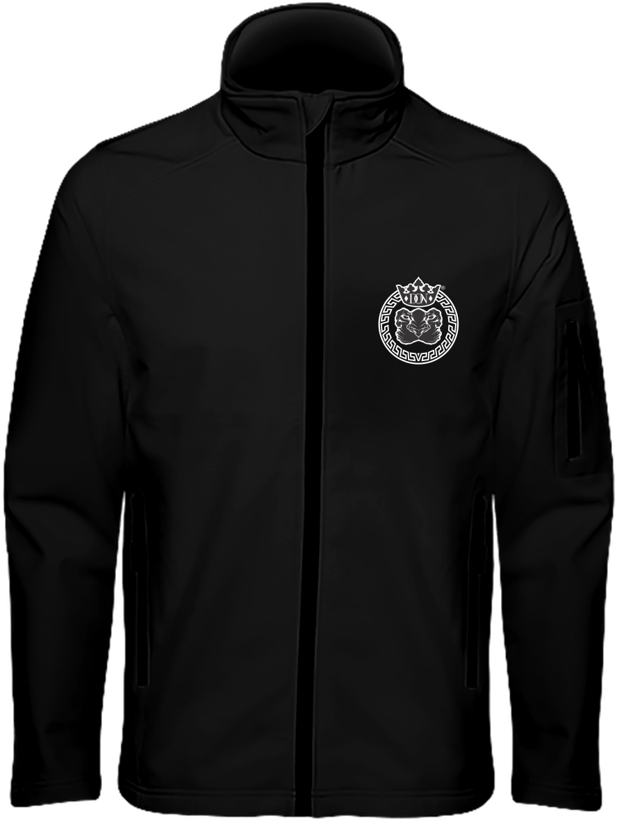 Mens Official Don Lions Pride Soft-Shell Jacket. - Black / S - Homme>Vestes & Manteaux