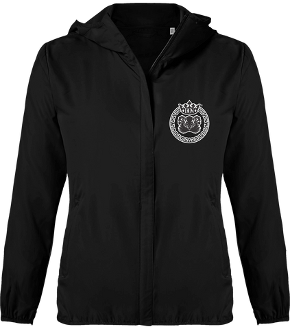 Womens Official Don Lions Pride Light Down Windbreaker Jacket - Black / Xs - Femme>Vestes & Manteaux