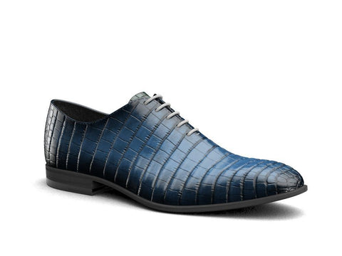 Cesare X Don Official Nile Crocodile Skin- Oxford Shoes - Shoes