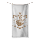 Gray Loyalty Over Royalty Sublimation All Over Towel
