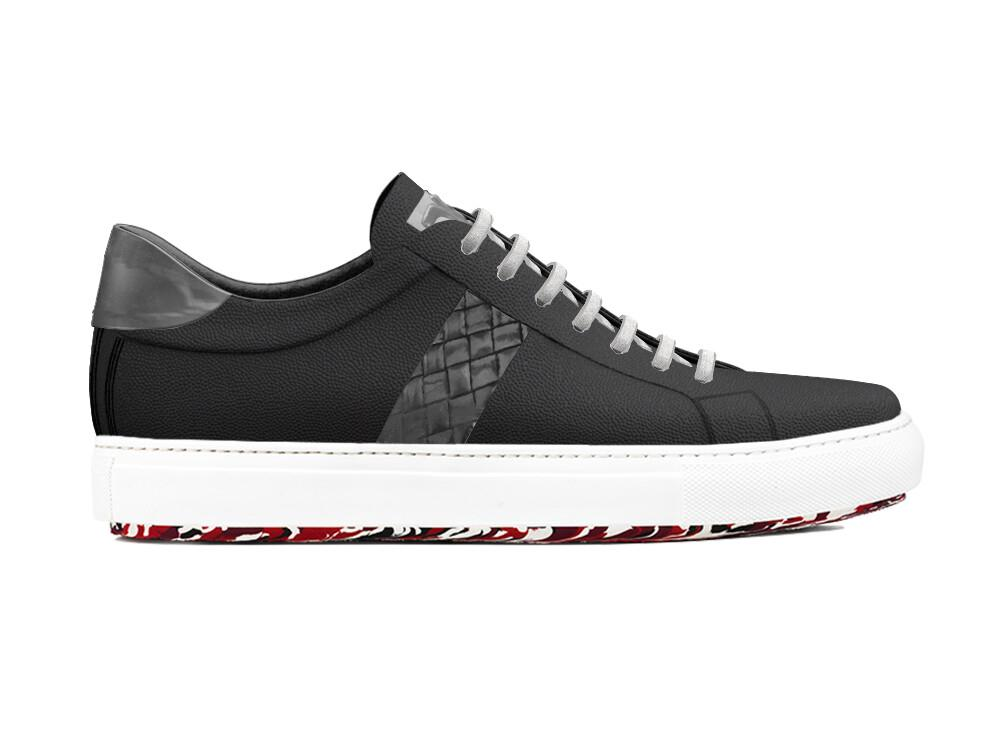 Dark Slate Gray DON X TIZIANO - Versatile Low-Tops.