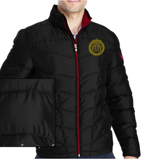 Mens Don X Spyder Embroidered Insulated Puffer Jacket - Coats