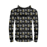 Black 3 Kids All-Over Print Hoodie