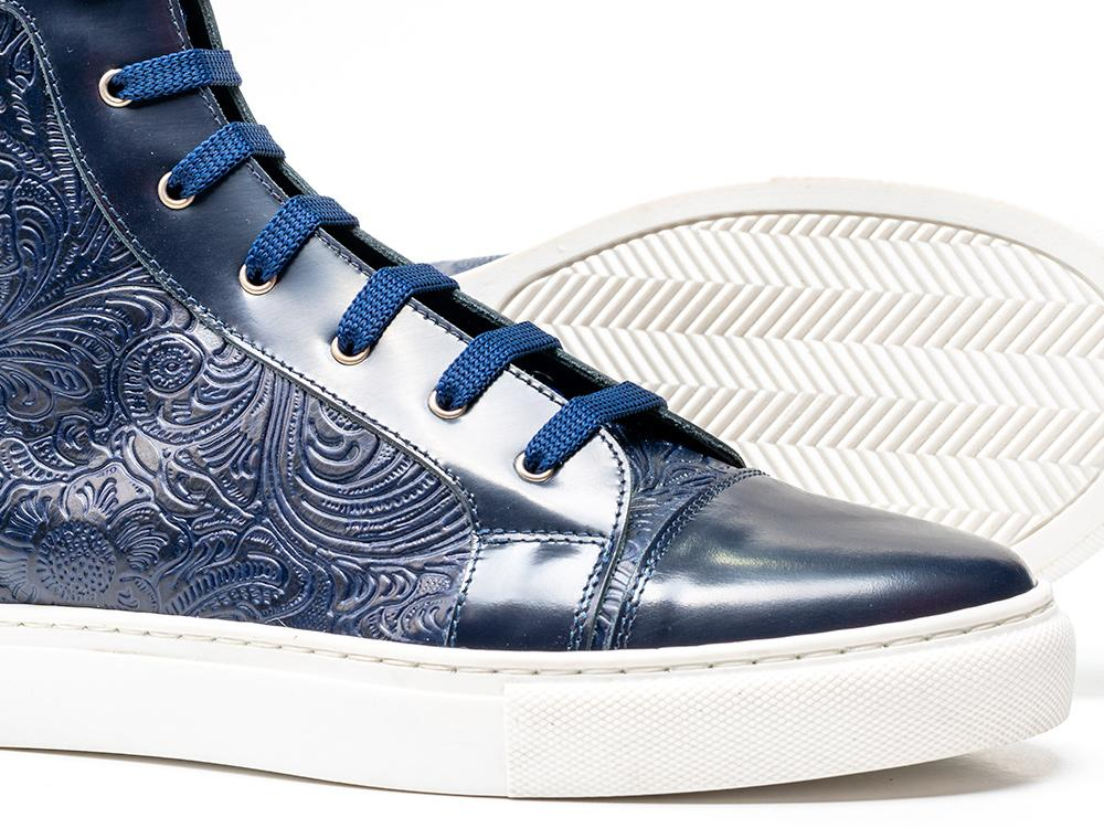 Dark Slate Blue DON Blue Inspiration Sneakers.