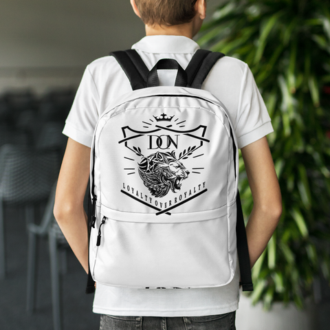 Official Don Loyalty Over Royalty Backpack
