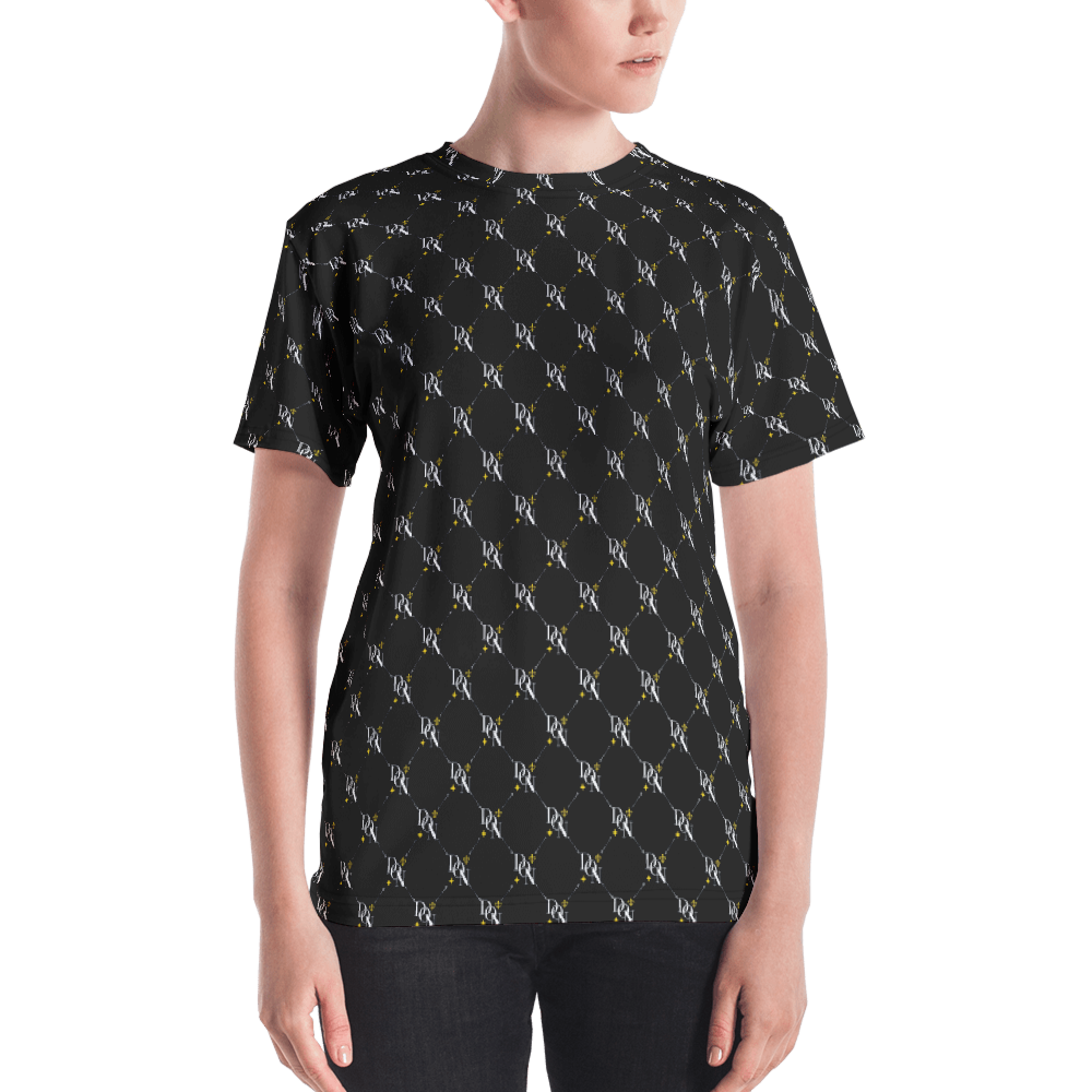 Women's Official DON Signature Pattern T-Shirt
