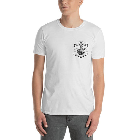White Smoke Short-Sleeve Unisex T-Shirt