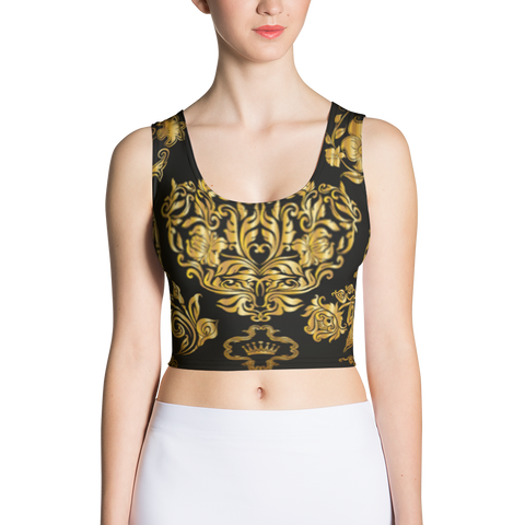 Official Don Sublimation Plutos Crop-Top - Xs