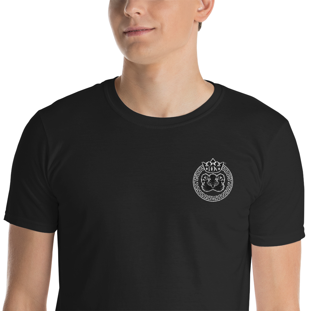 Black Men's Official DON Lion's Pride Embroidered T-shirt
