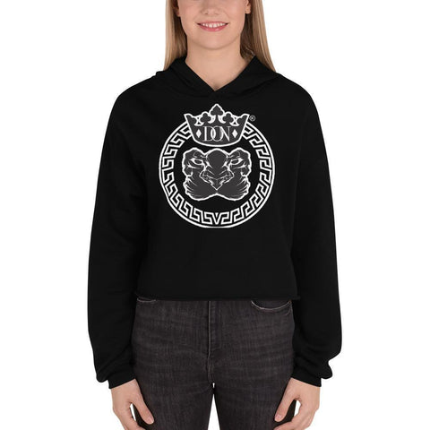 Womens Official Don Lions Pride Crop Hoodie - S