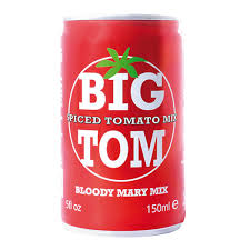 Big Tom Spiced Tomato Juice in Can
